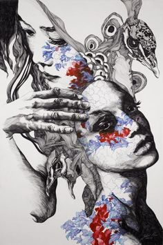 gabriel moreno illustration women