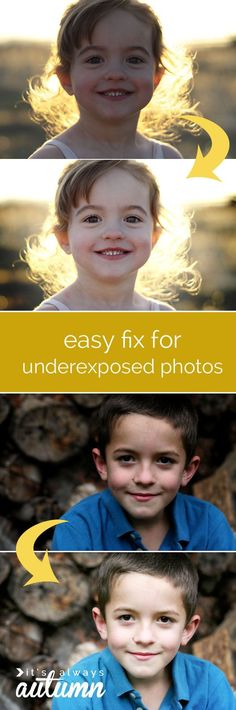 easy fix for dark or underexposed photos - Online Photo Editing - Online photo edit platform. - save dark or underexposed photos with this simple & easy trick for brightening! step by step screenshots show you exactly what to do.