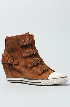 Ash Shoes The Eagle Sneaker in Dark Camel : Karmaloop.com - Global Concrete Culture