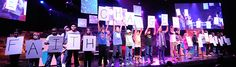 """First Hattiesburg's vision is to be a church for the unchurched, because faith changes everything.  Kids at #ClubFX on January 26th, told their stories of how they have shown faith.  They helped lead families in worship to """"Give Me Faith.""""  Club FX is a family experience that is all about bringing families together.  http://kids.firsthattiesburg.com/club-fx-january-26-2014/"""