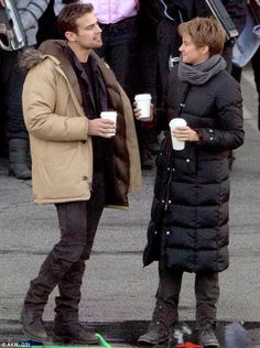 SHEO on the set of INSURGENT Dec. 19, 2014 ~Divergent~ ~Insurgent~ ~Allegiant~
