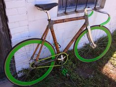 bamboo bike, I should try this