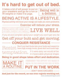Get in Shape - Art Print for @Suzi Holm-Test King  Thought it would be good for your motivation board!