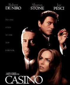 Master director Martin Scorsese depicts the sloping depth of a casino mafia boss' fall. about the life of the gambling paradise Las Vegas and its dark mafia underbelly. 1995 Movies, Top Movies, Great Movies, Movies And Tv Shows, Movies Free, Indie Movies, Watch Movies, Martin Scorsese, Film Movie