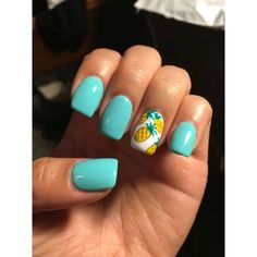 Summer nails ❤ liked on Polyvore featuring beauty products, nail care and nail treatments