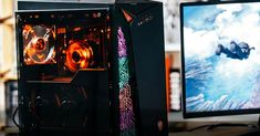 High-end gaming comes to CES with MSI's curved gaming monitors