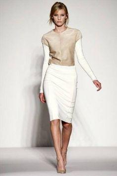 Falda de talle alto: Cómo combinarla