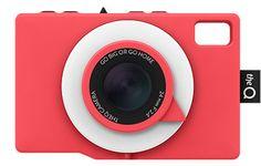 The social camera - TheQ Camera - colour 'Ketchup'! Diy General, Id Design, Waterproof Camera, Holga, Camera Obscura, Photo Online, Photo Look, Ketchup, Digital Camera
