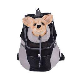 Botokon Dog Cat Carrier Backpack Travel Bag Pet front Carrier Bag Hands  Free Soft Sided Mesh 131a2ee31a