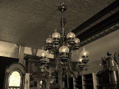 Antique Chandelier, Ceiling Lights, Lighting, Antiques, Home Decor, Old Chandelier, Antiquities, Antique, Decoration Home