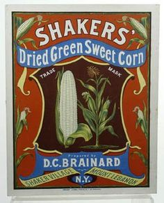 Shakers'Dried Green Sweet Corn Poster