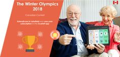 Congratulations to Extendicare in Lakefield who win one year subscription to Scarlett app ! #olympics #seniorcare #braingames #memorycare #seniors #braintraining # https://www.dynseo.com/en/brain-training-apps/scarlett-the-alzheimer-app/?utm_campaign=crowdfire&utm_content=crowdfire&utm_medium=social&utm_source=pinterest