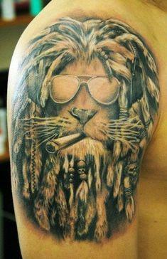 56e4b38d7 Marijuana Tattoo, Weed Tattoo, Arm Tattoo, Lion Tattoo Sleeves, Sleeve  Tattoos,