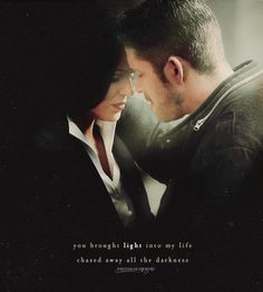 """""""You brought light into my life and chased away all the darkness..."""" #OutlawQueen"""