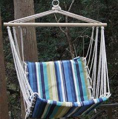 Prime Garden Single Hammock Swing