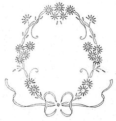 Resultado de imagen para hand embroidery flowers patterns #VintageEmbroideryPatterns