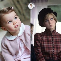 Princess Charlotte ! Little version of princess Diana