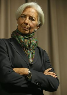 Christine Lagarde Photos: Chiefs Meet on Global Ebola Response