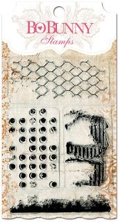 New! Distressed Textures Stamp #bobunny