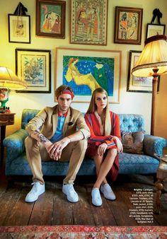 """Prep Yourself"""" Brigitta Liivak for Cosmopolitan UK February 2016"