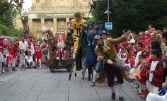 Actuación en las Fiestas de San Fermín - Pamplona