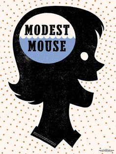 Modest Mouse- this looks like my brain! :)