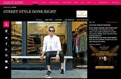 La Boutique l'Art et la Mode STORE DIRECTOR/BUYER, Colton Dixon Winger, Feature on DailyCandy for StreetStyle Awards