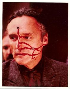 Dennis Hopper on the set of Blue Velvet (Thx Eleni)