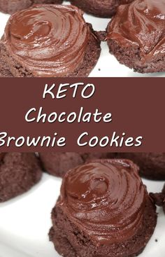Low Carb Sweets, Low Carb Desserts, Healthy Desserts, Low Carb Recipes, Dessert Recipes, Flour Recipes, Dinner Recipes, Keto Cookies, Cookies Et Biscuits