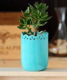 Hope Agua Marina - Matera. $68.500 COP. Encuentra más materas, floreros y plantas ornamentales en https://www.giferent.com/floreros-plantas-ornamentales