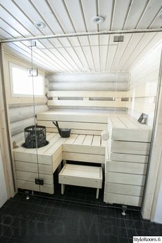 Diy Sauna, Sauna Ideas, Minimalist Small Bathrooms, Sauna Heater, Sauna Design, Finnish Sauna, Bathroom Colors, Bathroom Interior Design, Modern Luxury
