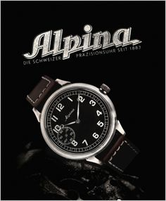 Alpina vintage advertising by Alpina Watches, via Flickr