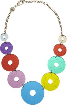 Sequin Party Link Necklace  £75 http://www.tattydevine.com/index.php/sequin-party-statement-necklace-840