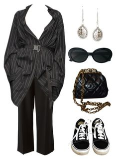 """Untitled #807"" by lucyshenton ❤ liked on Polyvore featuring 3.1 Phillip Lim, Chanel, Saqqara, Yves Saint Laurent and Vans"
