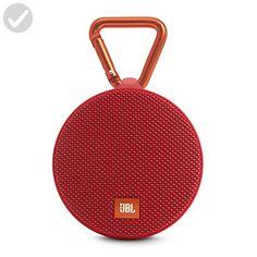 JBL Clip 2 Waterproof Portable Bluetooth Speaker (Red) - Audio gadgets (*Amazon Partner-Link)