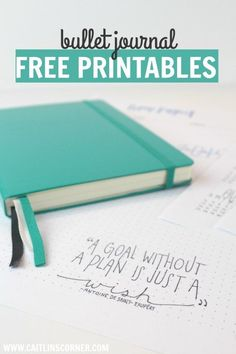 Free 2017 Printable for your Bullet Journal