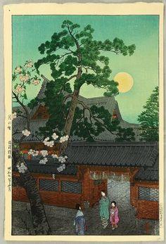 1932 - Kasamatsu, Shiro - Nezu Gongen Shrine - Artelino