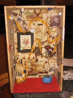 Joseph Cornell Gallery   Joseph Cornell Box by SpicyMeggiemoo on deviantART