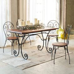Basi per tavoli in ferro battuto - Vendita online - Il ...