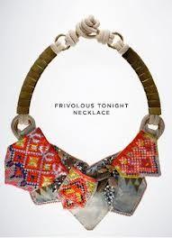 tribal fabric jewellery - Google Search