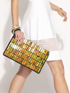 A bag that's colorful and vegetarian by Stella McCartney.
