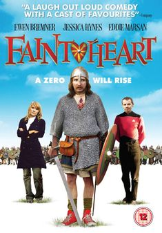 Faintheart (2008). Very cute movie! Especially if you're a nerd, like I am. Eddie was excellent as usual. He looked very different than how we usually see him, with long hair and droopy mustache. The movie's soundtrack, featuring lots of 70's metal, was awesome! I love that s**t.