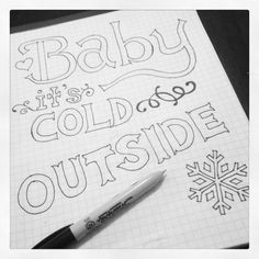 Free Printable: Baby, It�s Cold Outside