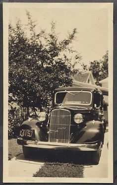 1934 Pontiac Funeral Hearse Uncle Dickie's family car was a hearse... He was rockin!
