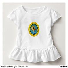 Puffin cartoon t-shirts