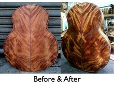 How luthier Jeffrey Yong from Kuala Lumpur in Malaysia makes the Monkeypod wood come alive and shine! The Monkeypod is a tree that is native to certain tropical areas.