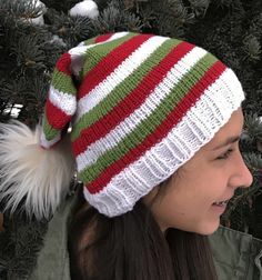 Holidays Slouchy Hat « KB Looms Blog Knitting Basics, Loom Knitting Projects, Loom Knitting Patterns, Knitting Stitches, Free Knitting, Knitting Tutorials, Stitch Patterns, Loom Knit Hat, Crochet Slouchy Hat