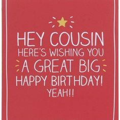 Happy Birthday Cousin, Happy Birthday Cards, Cousin Quotes, Quotes Images, Cousins, Captions, Pictures, Photos, Celebration