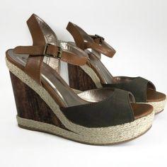 caa43193aa62 Qupid-Hampton-Women-Platform-Wedge-Sandal-Olive-Green-