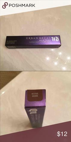 Urban decay brow tamer New, never used. Color - neutral brown. Price firm Urban Decay Makeup Eyebrow Filler